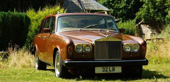 The former John Entwistle Rolls-Royce Silver Shadow II shooting brake sold for £43,700 including premium