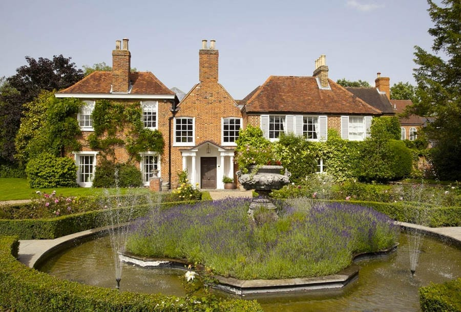 Gays or John Gays House, Langworthy Lane, Holyport, Maidenhead, Berkshire, SL6 2HN, England, United Kingdom – £5.95 million ($7.36 million, €6.88 million or درهم27.05 million) – For sale through Christie's Real Estate