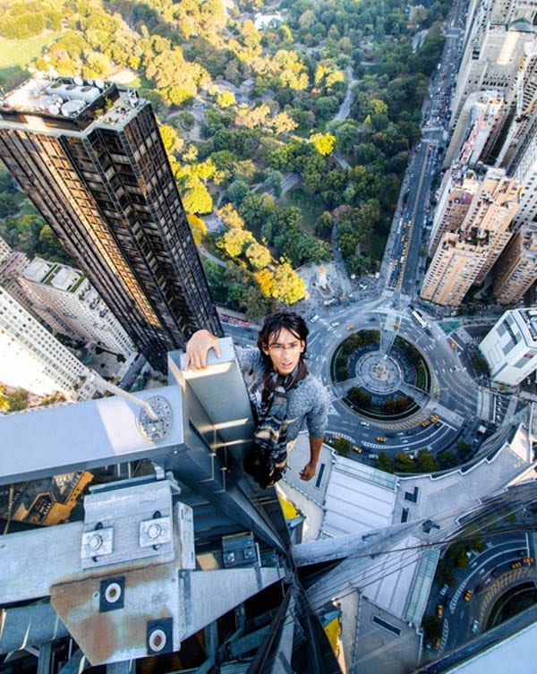 The Spirit of the Daredevil – New York's tallest building climber, teenager Justin Casquejo