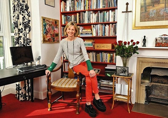 Kate Mosse (the writer) 'My Haven' her study