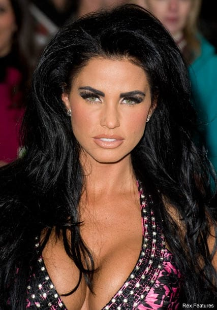 "Katie Price is the least likely woman on the planet to be described as having ""natural looks"""