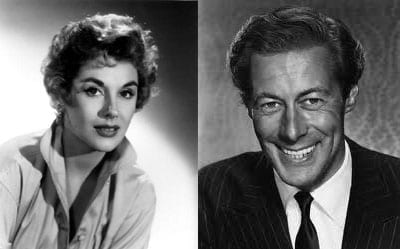 Sir Rex Harrison (1908 – 1990) and his actress wife Kay Kendall (1927 – 1959) lived at Belle Vue House in 1958