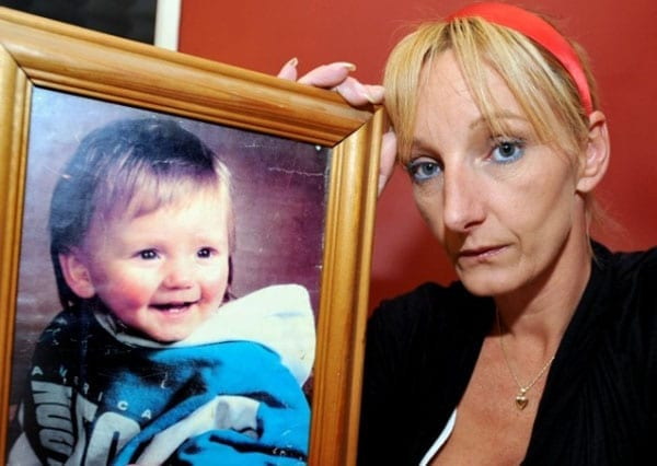 Kerry Grist-Needham's search for her missing son has received little financial support by contrast