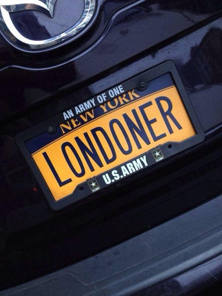 An Englishman in New York: LONDONER (Courtesy of Giovanni Pennetta)