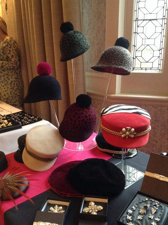 Laura Cathcart Millinery will showcase her current hats at a 30% discount on the day