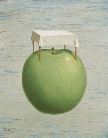 Les Belles Realite by Magritte