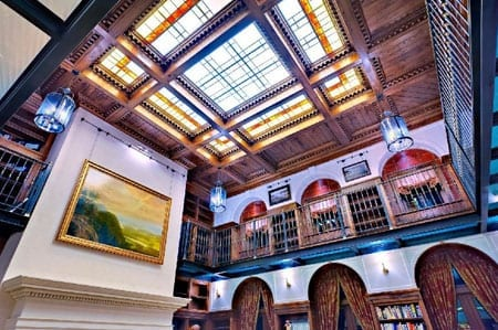 Library ceiling 450