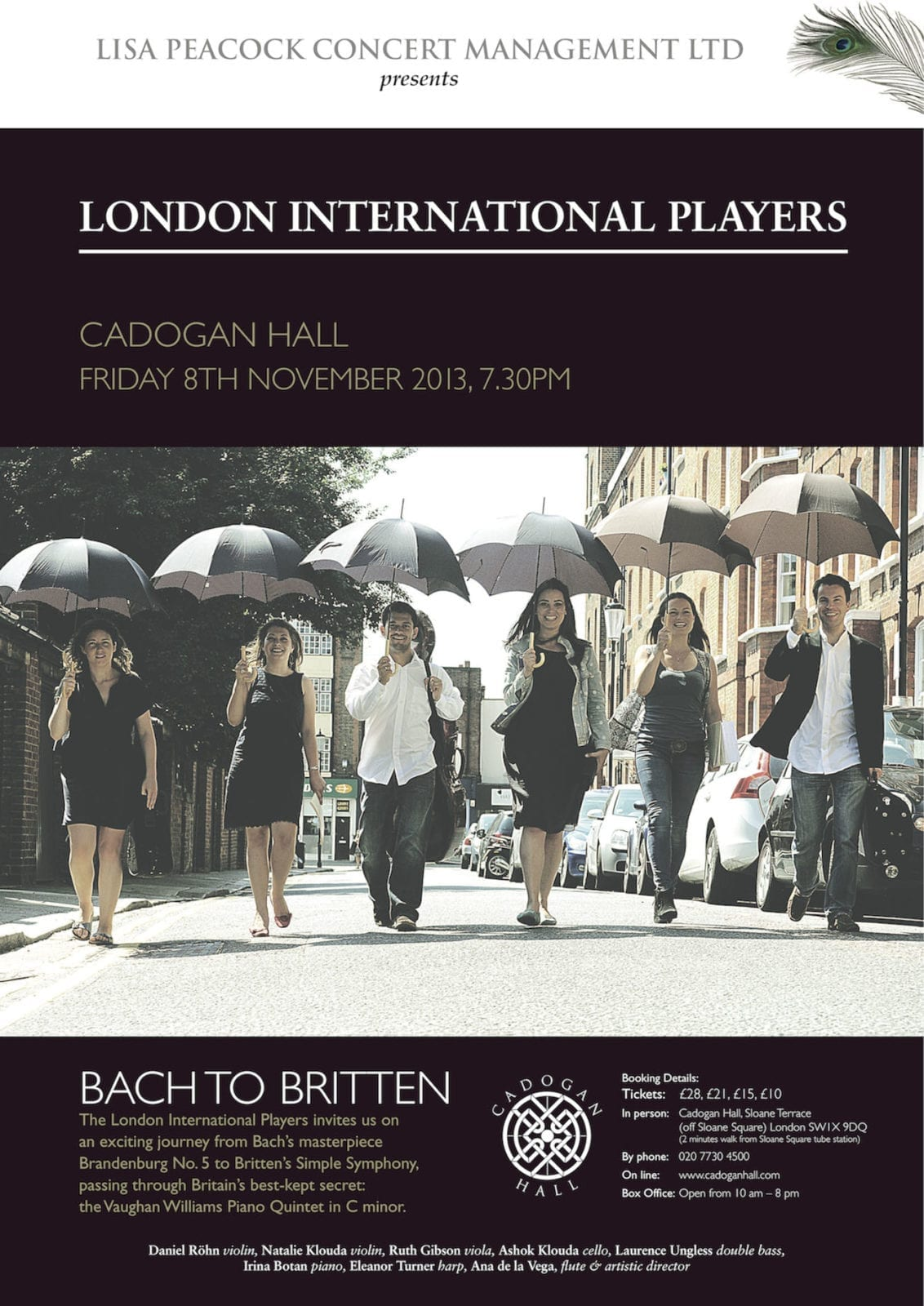 London International Players at Cadogan Hall