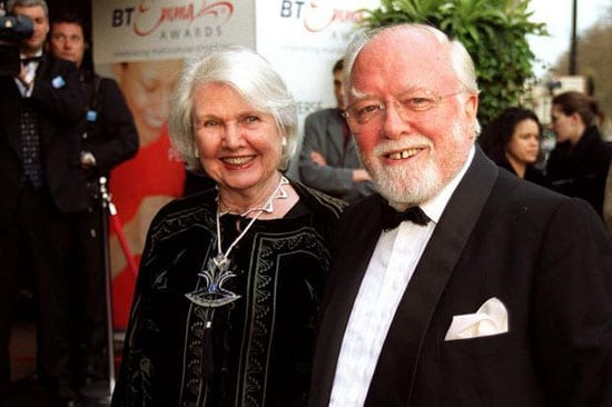Lord and Lady Attenborough