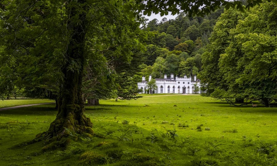 Anything Can Happen – Luggala, Roundwood, Leinster, County Wicklow, Ireland –For sale for £24.1 million ($30.1 million, €28 million or درهم110.7 million) through Sotheby's International Realty and Crawford's