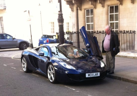 Someone who needs to share that they own a McLaren