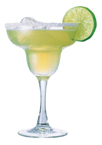 The margarita is plainly the madam's drink of choice
