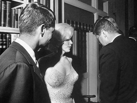 "The dress that Marilyn Monroe when she sang ""Happy Birthday, Mr President"" to John F. Kennedy in 1962 is part of the Zweig collection"