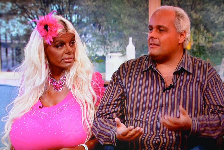 "Martina Big – The name of this ""mahogany skinned"" German is a giveaway."