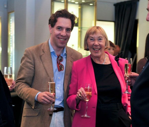 Matthew Steeples of 'The Steeple Times' and Minto Pyramid Principle creator Barbara Minto