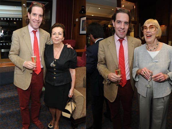 Matthew Steeples with Tatiana von Saxe Wilson and with Barbara Minto