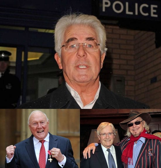 Max Clifford represented fellow convicted sex offender Owen Oyston whilst now jailed sex offender Stuart Hall was a director of one of his companies. William Roache, cleared of sexual offences allegations in February, was also a director of Oyston's businesses for some years