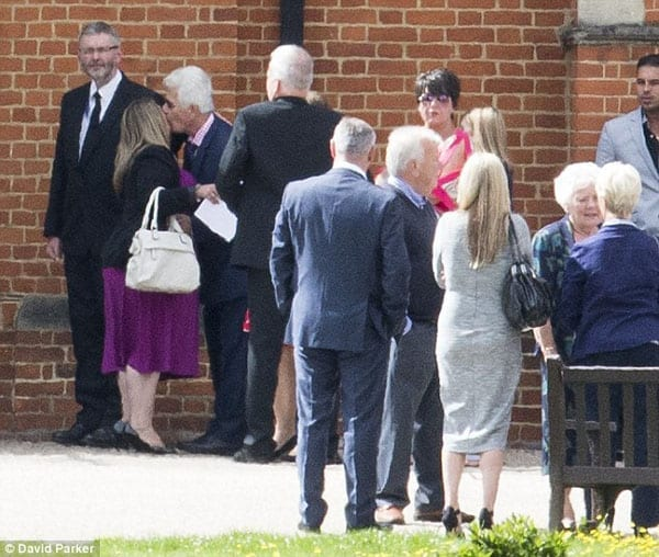 Max Clifford attended his brothers funeral in August