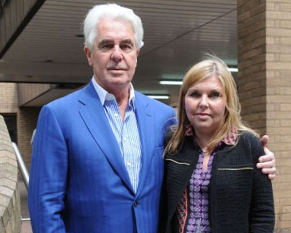 Max Clifford and his daughter Louise Clifford