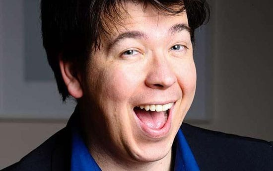Comedian Michael McIntyre is a neighbour of Robbie Williams in Compton bassett