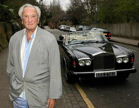Film director Michael Winner (1935 - 2013) owned many Rolls-Royce's during his lifetime
