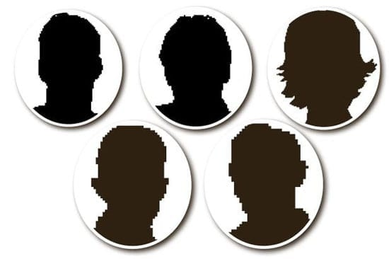 In their article, The Mirror mocked up five faces: do any of them look familiar?