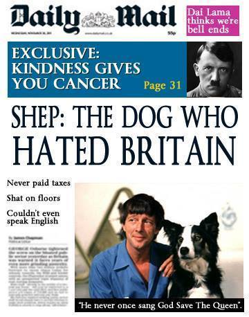 A cover mocking the 'Daily Mail' and their stance on the late Ralph Miliband sums up the week's main news story perfectly