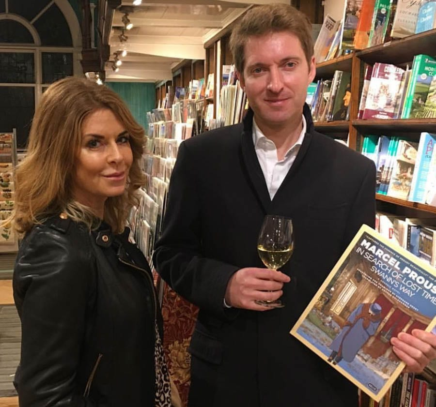 Moscow Nights – John Simpson marks the publication of his novel 'Moscow Nights' at Daunt Books in Marylebone
