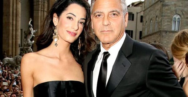 Mr and Mrs George Clooney
