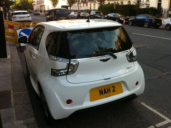 "Our final white entry: ""NAH"" would have been the best response when a dealer offered a Cygnet"