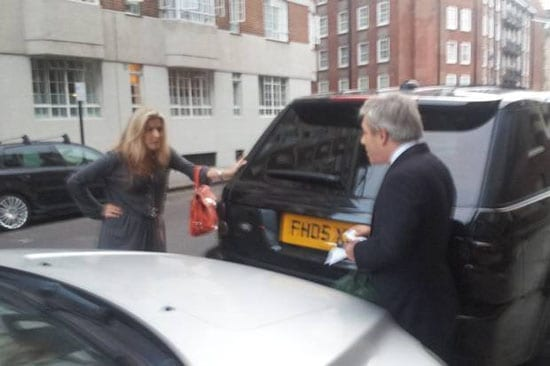 Nathalie Pulford confronts John Bercow