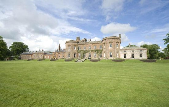 Netherby Hall is described as being a handsome Grade II* listed house