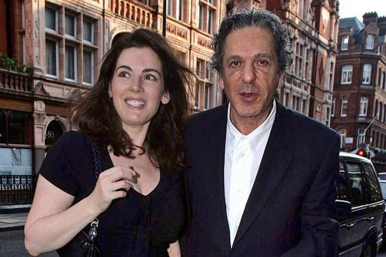 Nigella Lawson and Charles Saatchi in happier times