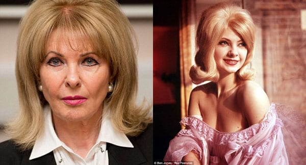 Now and then: Mandy Rice-Davies