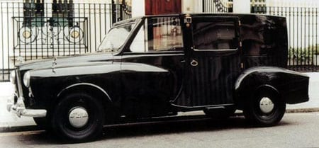 One of Nubar Gulbenkian's converted taxis