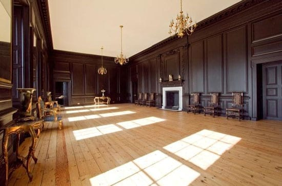 One of a number of impressive and sizeable reception rooms