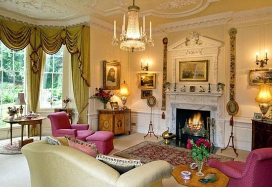 One of five reception rooms