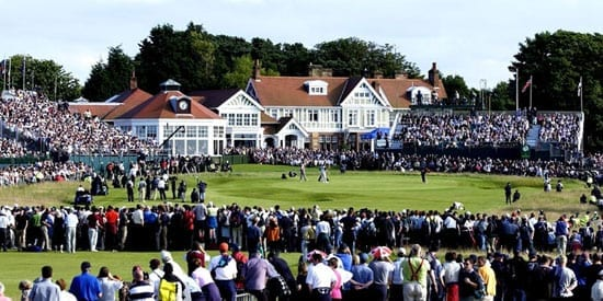 The Open Championship 2013 is being held at Muirfield