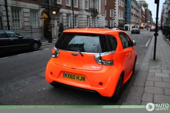 Ordering a Cygnet in orange didn't make it look any better