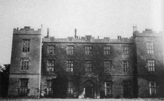 The original Compton Bassett House was demolished in 1929