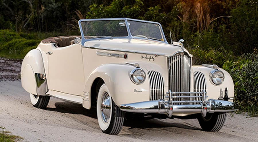 Auctions America Auburn Spring, Indiana sale – 11th to 13th May 2017 – Classic and modern cars and military lots – Five of the best lots on offer including a 1920 Ford Model T Coupé, a 1930 Cunningham V8 33286 Hearse, a 1941 Packard One-Eighty Convertible Victoria by Darrin, a 1967 Chevrolet Corvette 427/390 Coupé and a 1992 AM General M998 Humvee