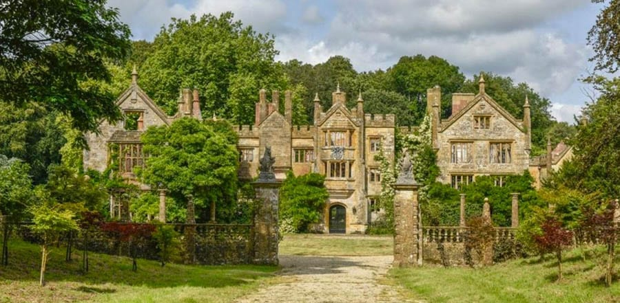A Fire Sale – Parnham House, Beaminster, Dorset, DT8 3LZ, United Kingdom – For sale for £3 million ($3.8 million, €3.3 million or درهم13.8 million) through Sanderson Weatherall; former home of the late Michael and Emma Treichl.
