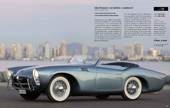 The RM Auctions catalogue entry for the 1954 Pegaso