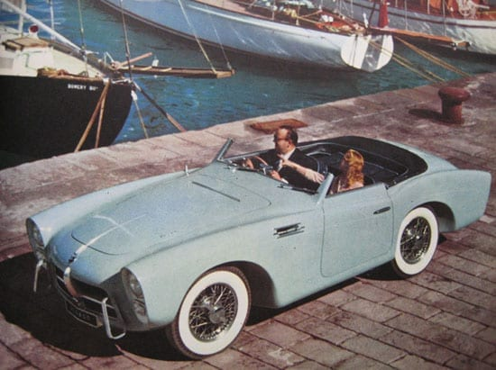 An old image of this stylish Spanish supercar