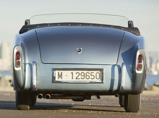 The Pegaso from the rear