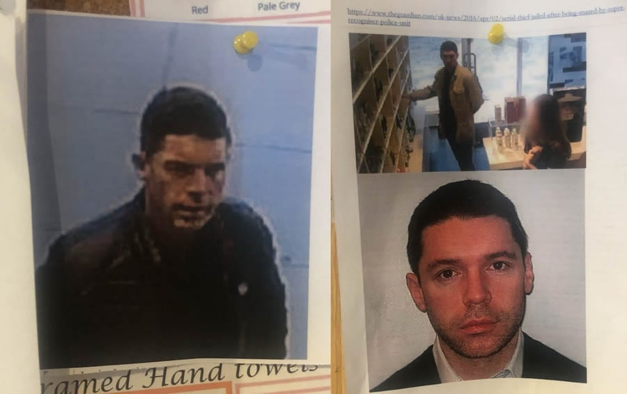 Caught On Camera In Chelsea – Percy Bass and Onslows, Chelsea, SW3 – Chelsea businesses take to naming and shaming local thieves.