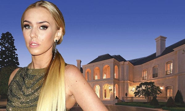 Petra Stunt is currently trying to sell the Spelling Manor for $150 million