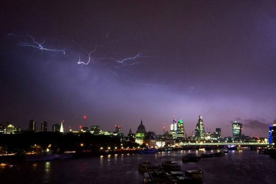 Picture of the Week: Lightning in London