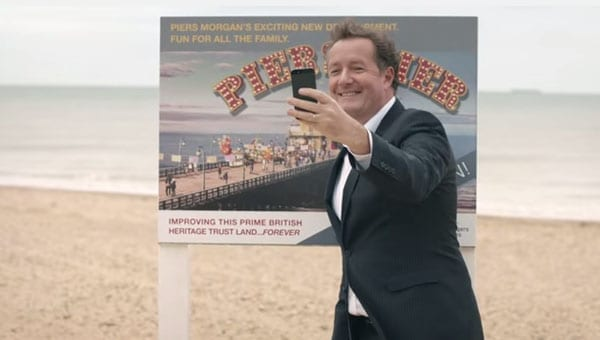 #PleaseNotThem - National Lottery make a cringeworthy advert featuring Piers Morgan as part of their #PleaseNotThem promotion