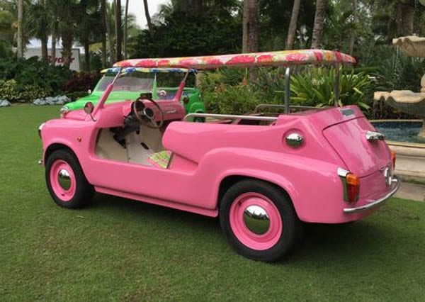 The Island Car – 'His' and 'hers' Neiman Marcus Island Cars by Lilly Pullitzer – £53,200 ($65,000 or €59,700)